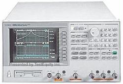 HP/AGILENT 4396B/10/1D5 NETWORK/SPECTRUM/IMPEDANCE ANAL., 100 KHZ-1.8 GHZ
